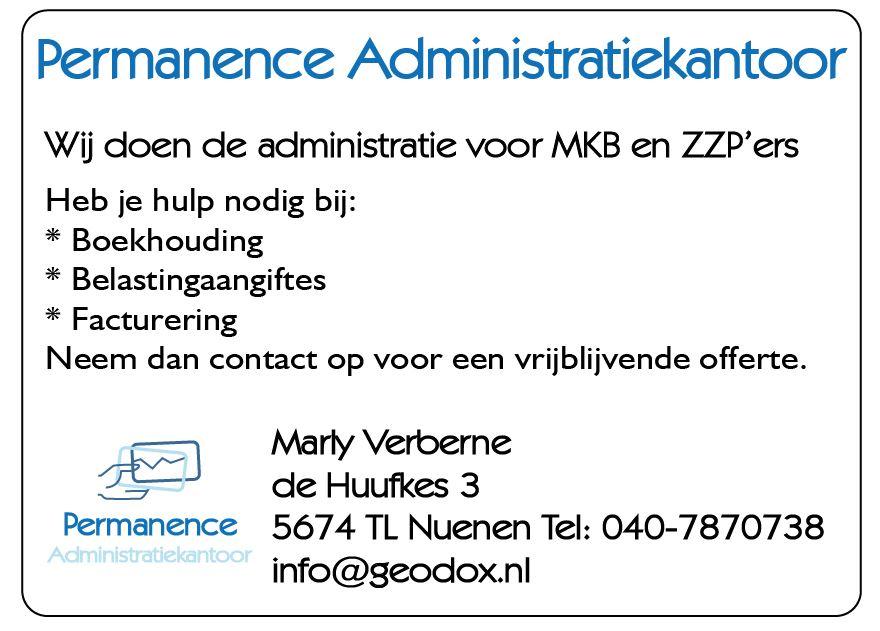 Permanence Administratiekantoor